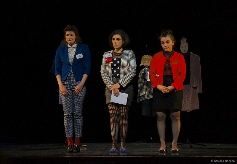 Sortie de résidence | Bord de scène à Vitry le François | Mars 2017